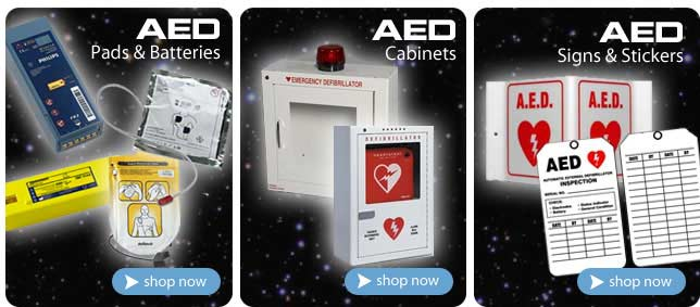 AEDUniverse.com your online source for AED's and AED Accessories at low prices.
