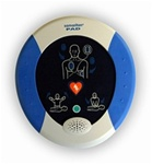 Heartsine Samaritan PAD AED with everyday people in mind HeartSine designed an AED interface that guides even the most infrequent user throughout the rescue process. PAD-BAS-US-05