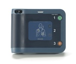 Philips Heartstart FRx AED Defibrillator 861304. The most rugged AED on the market today. The Philips FRx AED is a full featured AED with CPR help. The Philips FRx defibrillator is a great option for outdoor use and schools. 861304