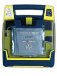The Cardiac Science Powerheart AED G3 Plus is the flagship Cardiac Science AED (automated external defibrillator), complete with RescueCoach and CPR metronome to pace chest compressions. 9390A-501P, 9390E-501P