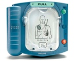 Philips Onsite Automated External Defibrillator AED. The Philips HeartStart Onsite HS1 AED is a great defibrillator for offices, schools and public access placements. Philips is a leader in AED's. M5066A