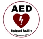 AED Sticker- Let others know that you are ready for the unexpected with the AED Equipped Facility Sticker from AEDUniverse.com. NW530