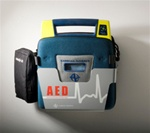 The Cardiac Science AED wall mounted storage sleeve is an economical and attractive AED wall bracket holder which keeps your Automated External Defibrillator in an easily accessible location. 180-2022-001