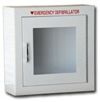 AED Wall Cabinet- Protect your AED with one of our AED Cabinets. Our metal wall mounted AED Cabinets keep your AED clean and visible. 180SM