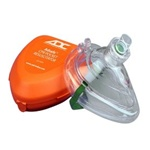 Adsafe CPR Pocket Resuscitator CPR Barrier Mask in hard case. CPR barriers help prevent disease transmission while performing mouth to mouth ventilations. CPR barriers from ADC. 4053