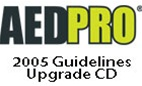 ZOLL AED Pro Guidelines 2005 Upgrade CD. This CD is required to perform the upgrade to make the ZOLL AED Pro meet the American Heart Association AHA 2005 guidelines. CD Only. 7771-0001-01