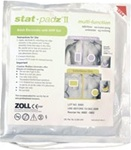 ZOLL Stat Pads- Traditional 2-Piece Electrode Pad for ZOLL AED Plus or AED Pro Defibrillator. 2 year shelf life pads. For use on individuals weighing greater than 55 pounds or over 8 years of age. ZOLL Stat Padz II. 8900-0801-01