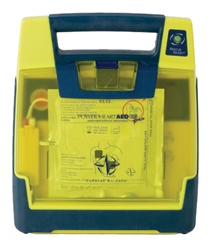 Cardiac Science Powerheart AED G3 Pro is a fully equipped automated external defibrillator (AED) for medical professionals that comes with a color display, 3-lead ECG monitoring capability, and manual defibrillation override. 9300P-501P, 9300P-601P