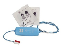 Cardiac Science Pediatric AED Pads- Cardiac Science Pediatric Defibrillation Electrode Pads provide reduced defibrillation energy and are
