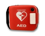 The rugged Philips FRx AED carry case made of wipeable urethane and designed to hold the Philips FRx defibrillator as well as its main accessories and supplies. The carrying case is intended for use with the Philips FRx AED. 989803139251