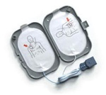 The Philips FRX AED pads are packaged in a plastic case which fits into the Philips FRx semi-rigid AED carry case. Philips FRx SMART Pads II Defibrillation Electrode. 989803139261