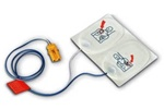Philips FRx AED replacement training pads. Philips HeartStart FRx training pads come delivered in a plastic case. Once the pads need to be replaced it is not necessary to buy a new case; just order these replacement FRx training pads. 989803139291