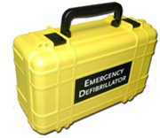 The Defibtech Lifeline and Reviver Deluxe AED hard carrying case is made of tough high-impact ABS plastic. The foam insert is resistant to body fluids, and is specifically designed for the Lifeline and Reviver AED's. DAC-111