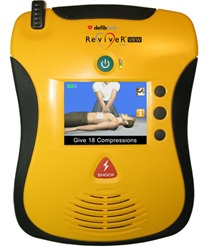 Defibtech Lifeline View Automated External Defibrillator, View, Defibtech's new AED with a video screen. DDU-2300