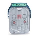 Philips Heartstart Onsite AED Child/Infant pediatric Pads Cartridge. M5072A. The Philips Onsite Pediatric Child/Infant AED pads are to be used on children under 8 years old or less than 55 pounds.