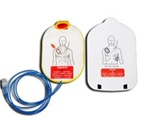 "Philips Heartstart Onsite Adult Replacement AED Training Pads - Have your Philips Onsite training pads lost their ""stick""? Is the AED not sensing that the pads are on the manikin adapter? You may need a new set of Philips Adult AED training pads M5093A."
