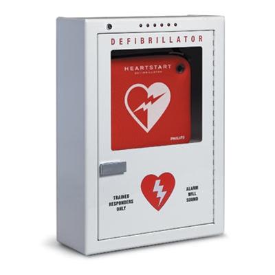 AED Cabinets- Wall Mounted AED cabinets with and without alarm ...